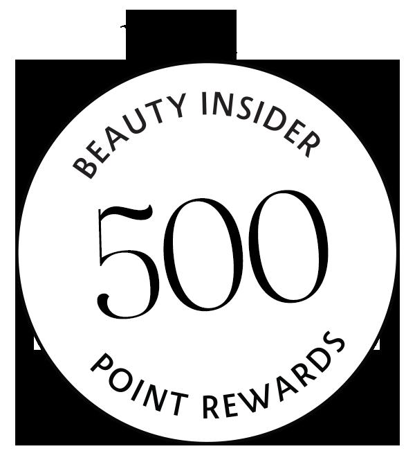 500 Beauty Insider Point Rewards